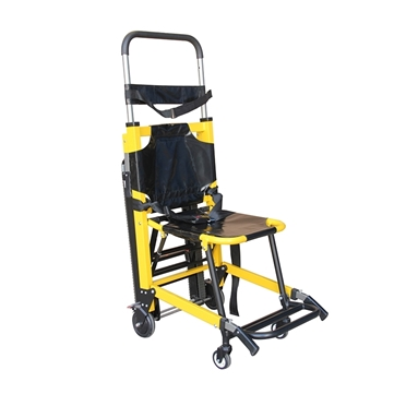 tracked evacuation chair