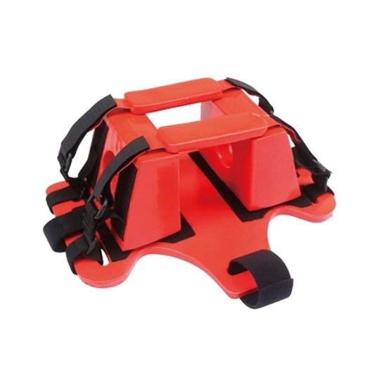 head immobiliser,head fixing device,head splint,head holder,head blocks