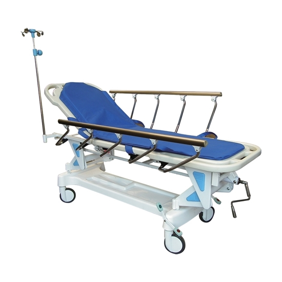 Hand- cranked Transport Stretcher