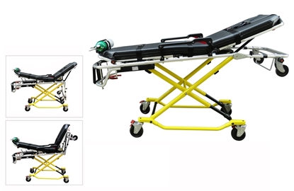X-frame Mobile Transporter Cot Stretcher