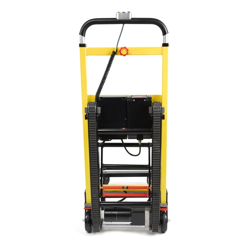 Power stair climbing hand truck electric stair climber for Motorized hand truck dolly