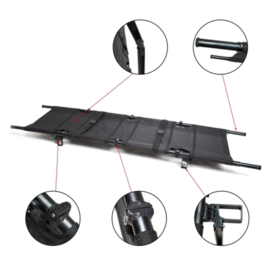 Picture of Aluminum Alloy Foldaway Stretcher (EMS-A112)