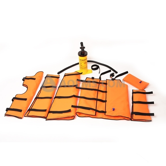 Picture of Multi-Chamber  Vacuum Splint set EMS-A406G
