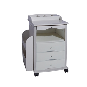 Foto de Hospital Bedside Cabinet on Castors-AO BT07