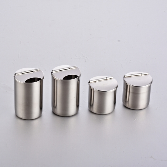 Picture of Stainless Steel Medical Cylinder Disinfectant Container  AO-SU002