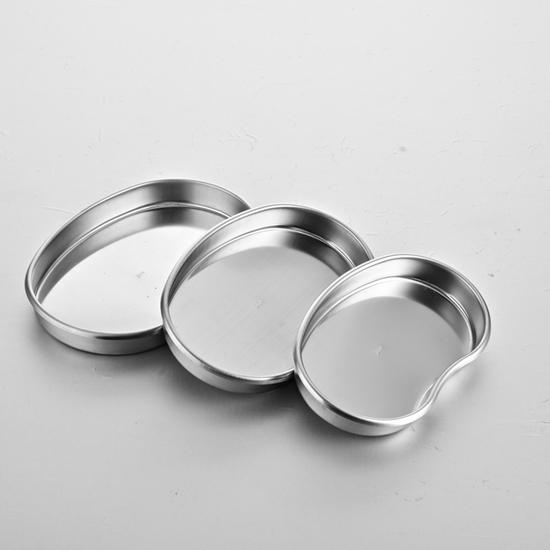 Picture of Stainless Steel  Kidney-Type Disinfection Disc Tray Plate  AO-SU006