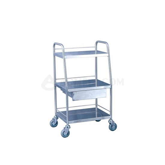 图片 Stainless Steel Instrument Cart-AO SSA009