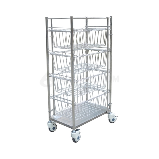 Picture of Stainless Steel Net Basket Cart AO-SSA013