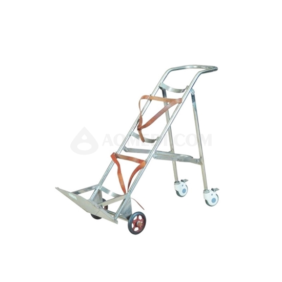 Picture of SS Hospital Oxygen Cylinder Cart AO-SSA014