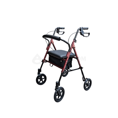 Image de Rollator 4 roues robuste (AO-AR103)