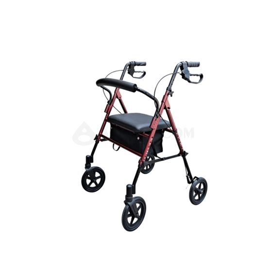 Image sur Rollator 4 roues robuste (AO-AR103)