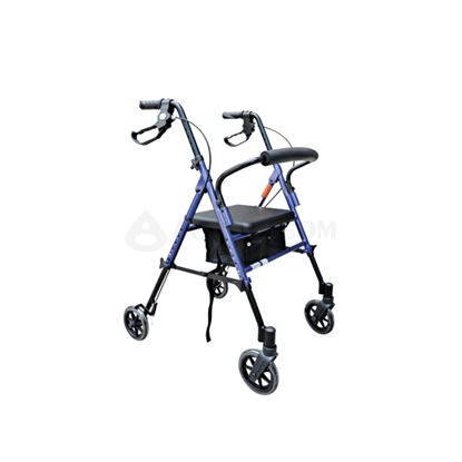 Picture of Lightweight 4-Wheel Rollator Blue(AO-AR 102)
