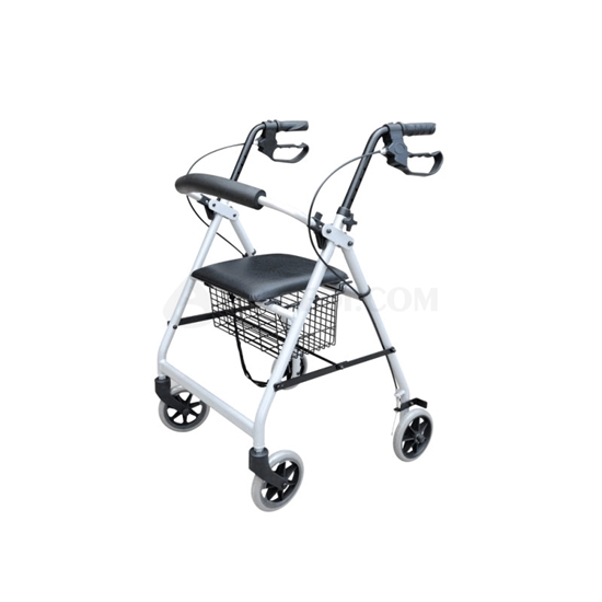 Picture of Rehabilitation Indoor&Outdoor Rollator White(AO-AR106)