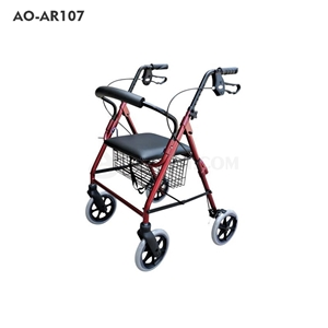 Picture of 4-wheel Aluminium Wheeled Walker(AO-AR107 & AO-AR108)