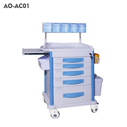 图片 Medical Anesthesia Trolley(AO-AC01/AO-AC02/AO-AC07/AO-AC08)