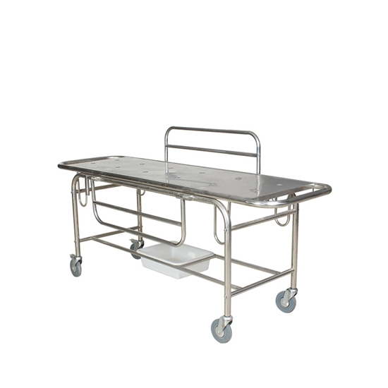 图片 Stainless Steel Frame Patient Transport Stretcher
