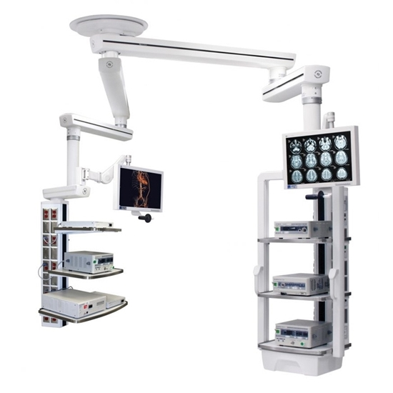 Picture of Hospital Operating Room Single-arm Surgical Tower